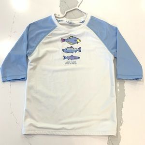 Janie & Jack 6 boys rash-guard UPF 50+